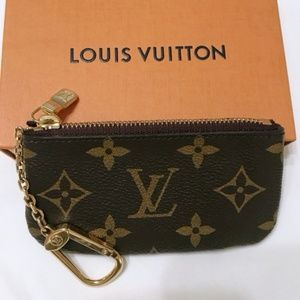 Louis Vuitton Monogram Key Pouch mini wallet